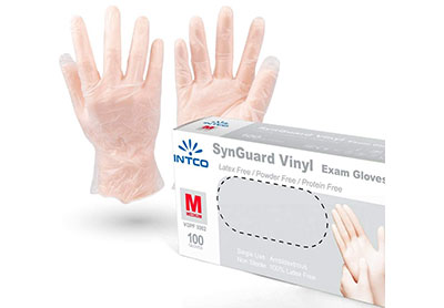 Buy Intco Medical Vinyl Examination Gloves 24 99 By